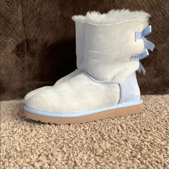 UGG Shoes | Light Blue Bailey Bow S